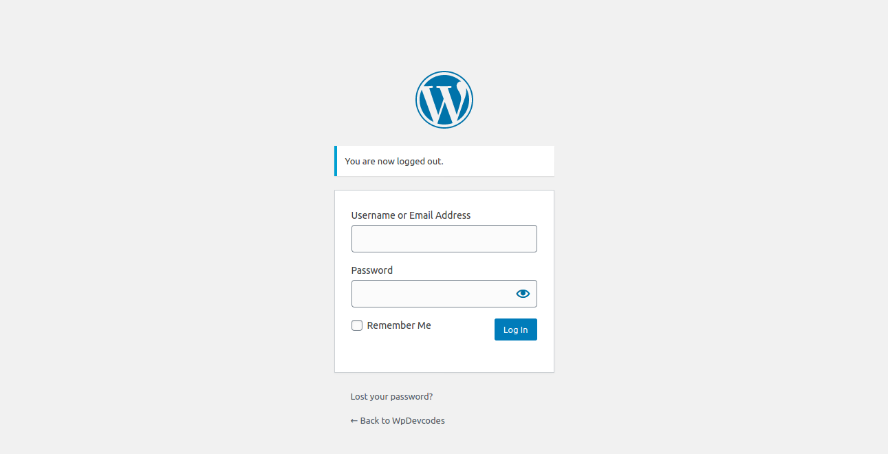 How To Auto Redirect Users After Logout In WordPress