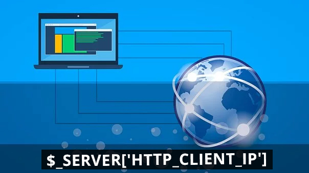 Get the client IP address using PHP